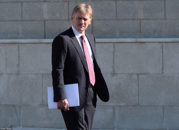 Rzecznik Kremla Dmitrij Pieskow /AFP /East News