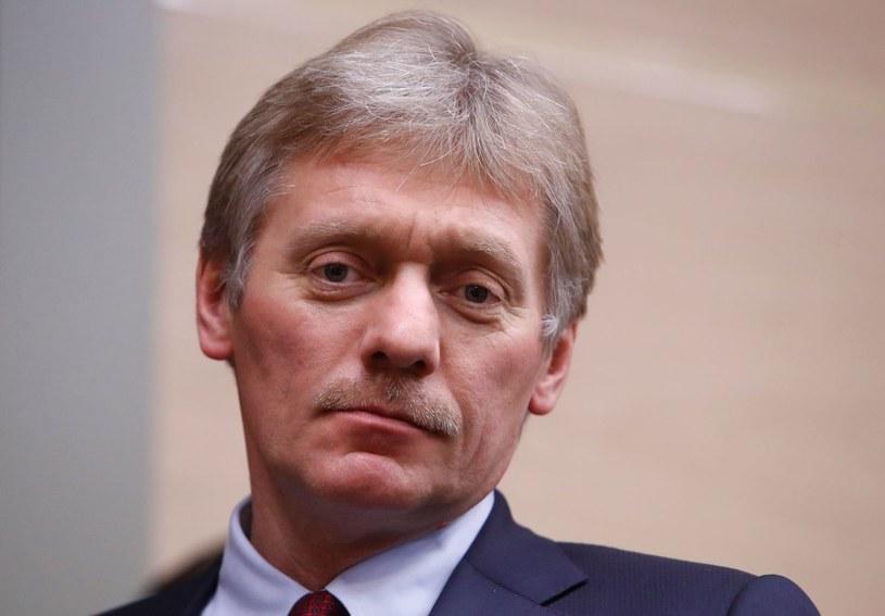 Rzecznik Kremla Dmitrij Pieskow /AFP