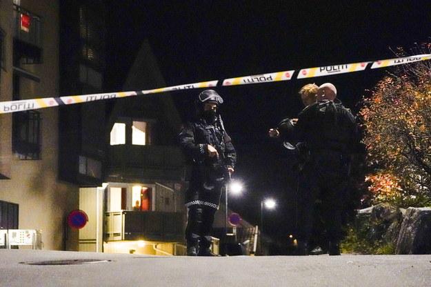 Rzecznik lokalnej policji przekazał, że sprawca został zatrzymany /HAKON MOSVOLD LARSEN NORWAY OUT /PAP/EPA