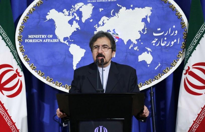 Rzecznik Ministerstwa Spraw Zagranicznych kraju Bahram Ghasemi /AFP