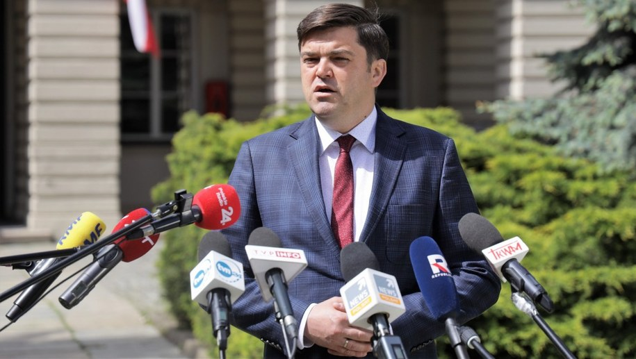 Rzecznik Ministerstwa Zdrowia Wojciech Andrusiewicz /Michał Dukaczewski /RMF FM