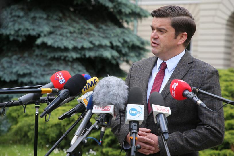 Rzecznik Ministerstwa Zdrowia Wojciech Andrusiewicz /East News