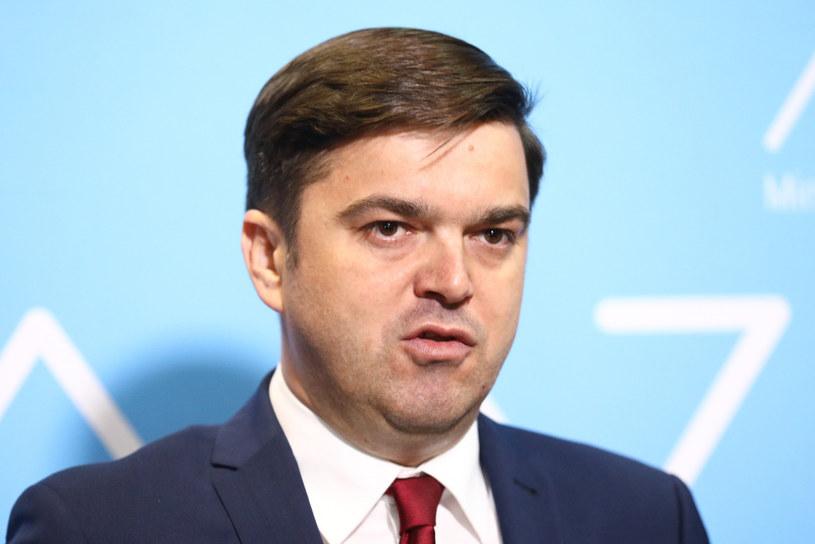Rzecznik Ministerstwa Zdrowia Wojciech Andrusiewicz /Tomasz Jastrzębowski /Reporter