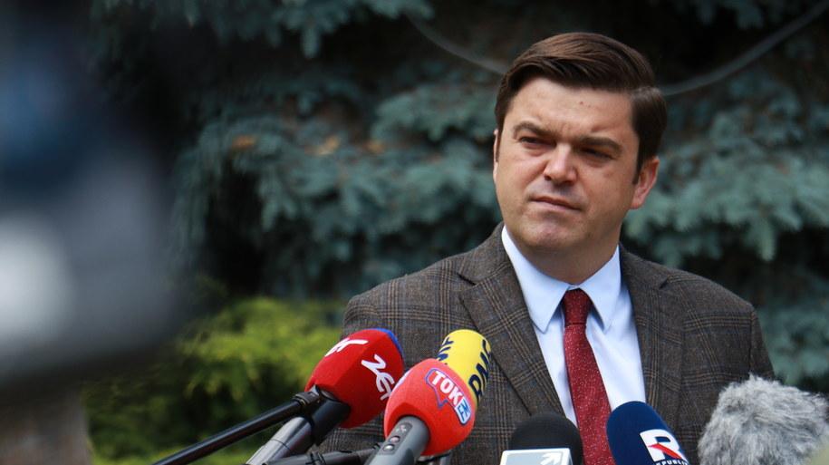 Rzecznik Ministerstwa Zdrowia Wojciech Andrusiewicz /Jakub Rutka /RMF FM
