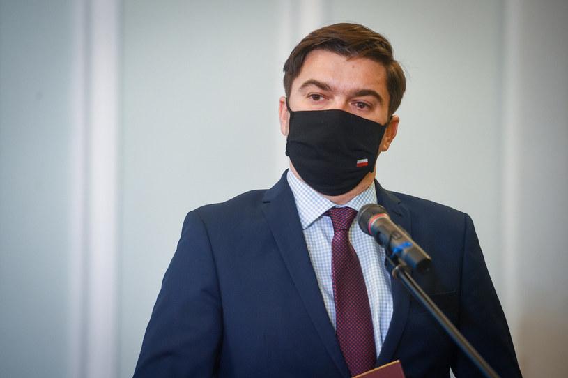 Rzecznik Ministerstwa Zdrowia Wojciech Andrusiewicz /Zbyszek Kaczmarek/REPORTER /Reporter