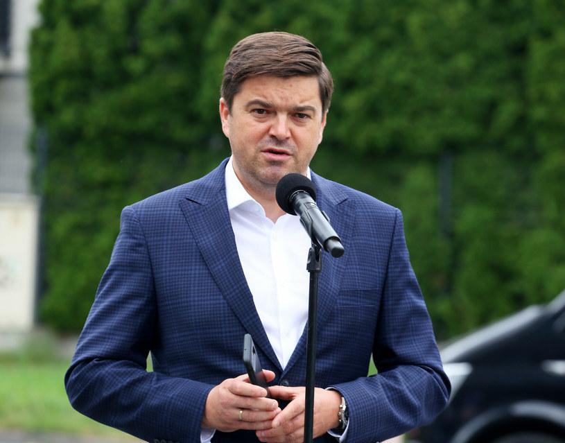 Rzecznik ministerstwa zdrowia Wojciech Andrusiewicz /Pawel Wodzynski /East News