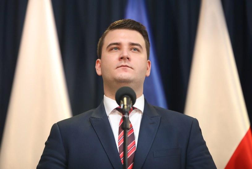 Rzecznik MON Bartłomiej Misiewicz /STANISLAW KOWALCZUK /East News