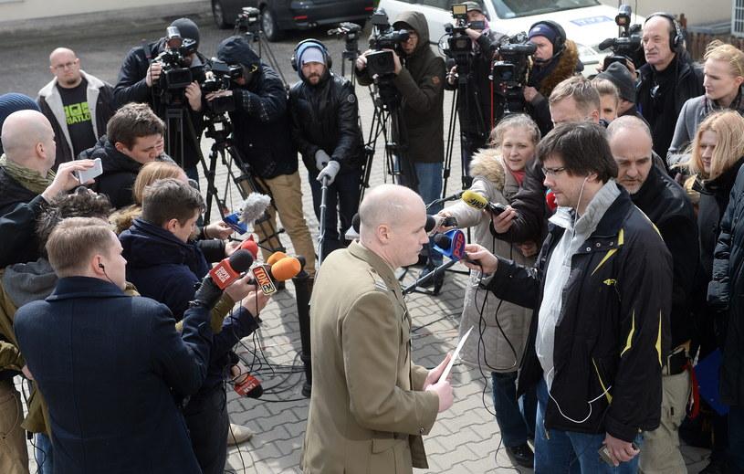 Rzecznik Naczelnej Prokuratury Wojskowej mjr Marcin Maksjan /Bartłomiej Zborowski /PAP