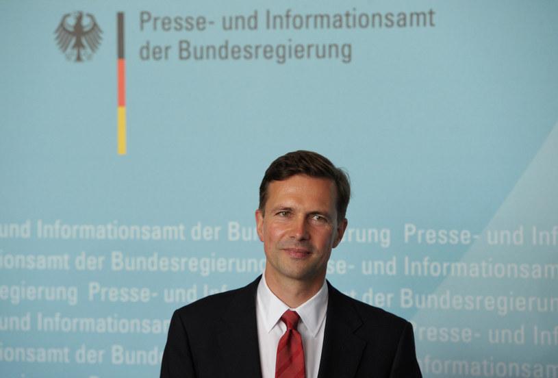 Rzecznik niemieckiego rządu Steffen Seibert /AFP