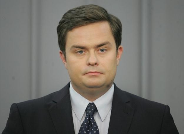 Rzecznik PiS Adam Hofman / fot. P. Kowalczyk /Agencja SE/East News