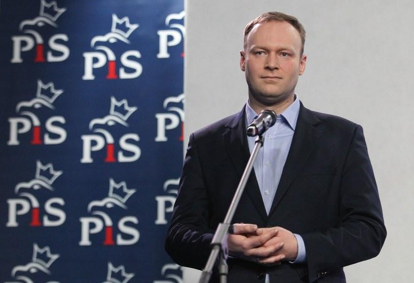 Rzecznik PiS Marcin Mastalerek /Michał Dyjuk /Reporter