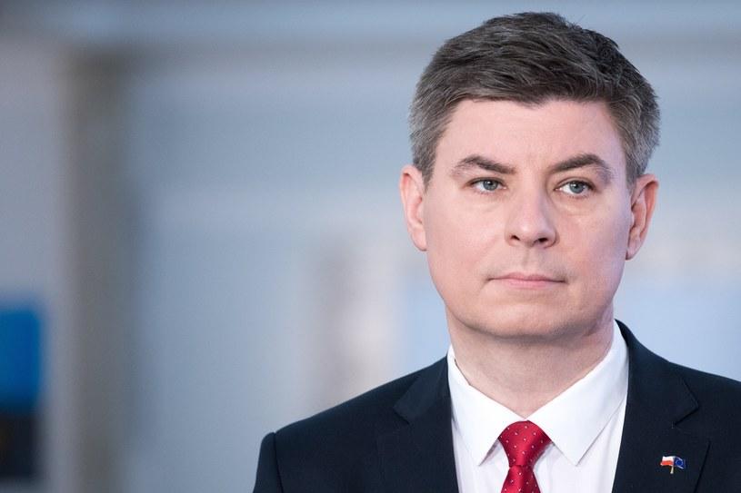 Rzecznik Platformy Obywatelskiej Jan Grabiec /Paweł Wisniewski /East News