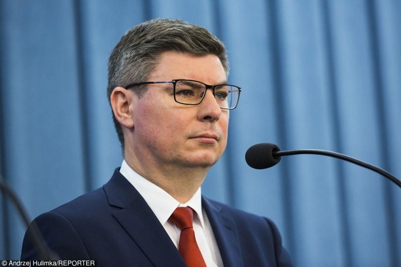 Rzecznik PO Jan Grabiec /Andrzej Hulimka  /East News