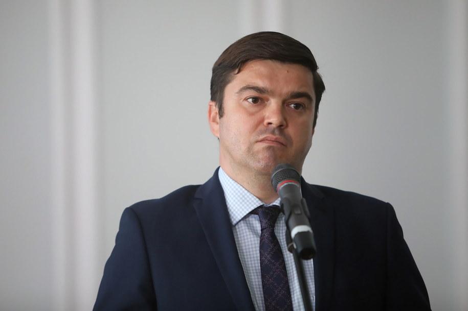 Rzecznik prasowy Ministerstwa Zdrowia Wojciech Andrusiewicz /Wojciech Olkuśnik /PAP