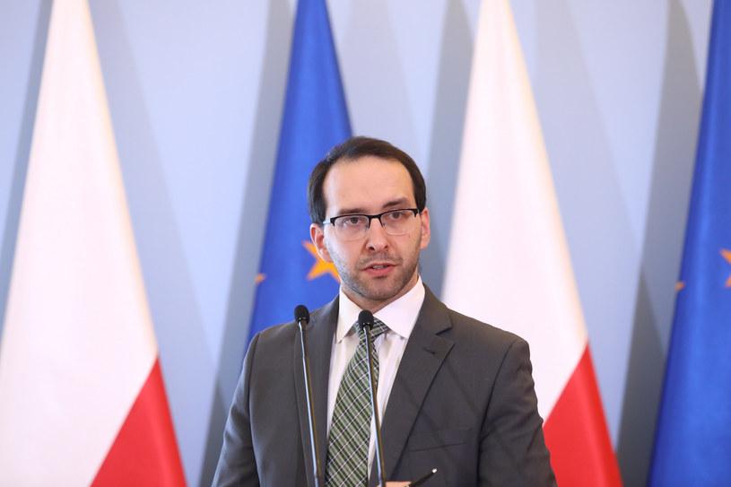 Rzecznik prasowy ministra koordynatora służb specjalnych Stanisław Żaryn /Piotr Molecki /East News