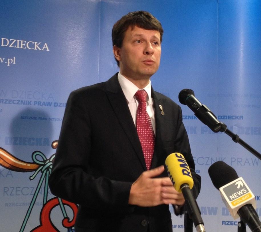 Rzecznik Praw Dziecka Marek Michalak /Mariusz  Piekarski /RMF FM