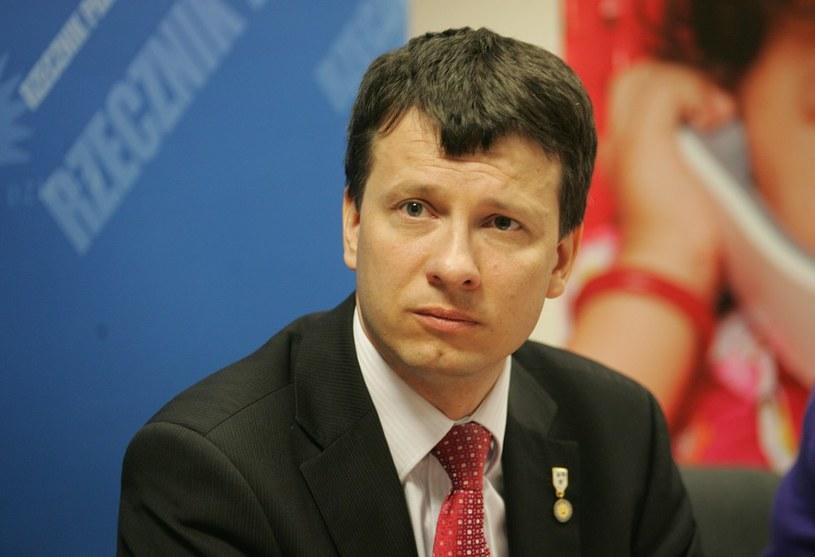 Rzecznik Praw Dziecka Michał Michalak. /Piotr Kowalczyk /Agencja SE/East News