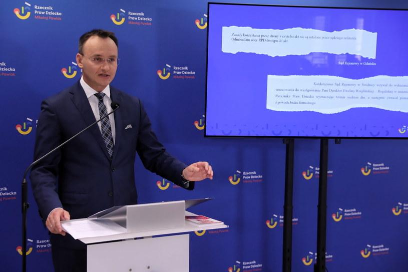 Rzecznik Praw Dziecka Mikołaj Pawlak /Tomasz Gzell /PAP