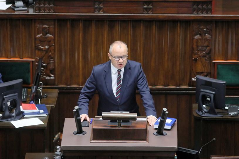 Rzecznik praw obywatelskich Adam Bodnar podczas obrad Sejmu / Leszek Szymański    /PAP