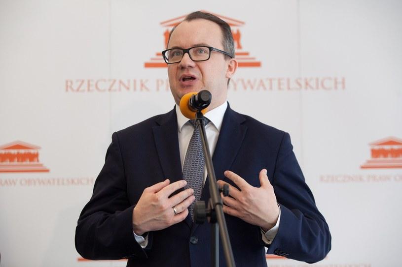 Rzecznik Praw Obywatelskich Adam Bodnar /STEFAN MASZEWSKI/REPORTER /Reporter