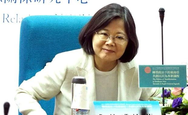 Rzecznik prezydent Tajwanu: Nie ugniemy się pod presją Chin