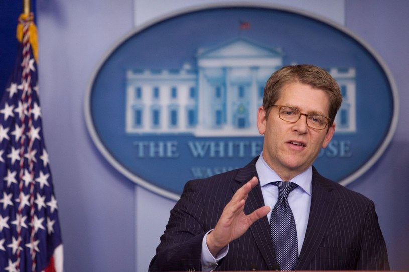 Rzecznik prezydenta Baracka Obamy, Jay Carney /AFP
