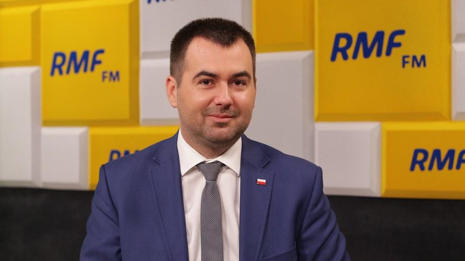 Rzecznik prezydenta Błażej Spychalski /Karolina Bereza /RMF FM