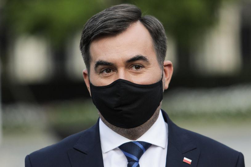 Rzecznik prezydenta Błażej Spychalski /Andrzej Hulimka  /Agencja FORUM