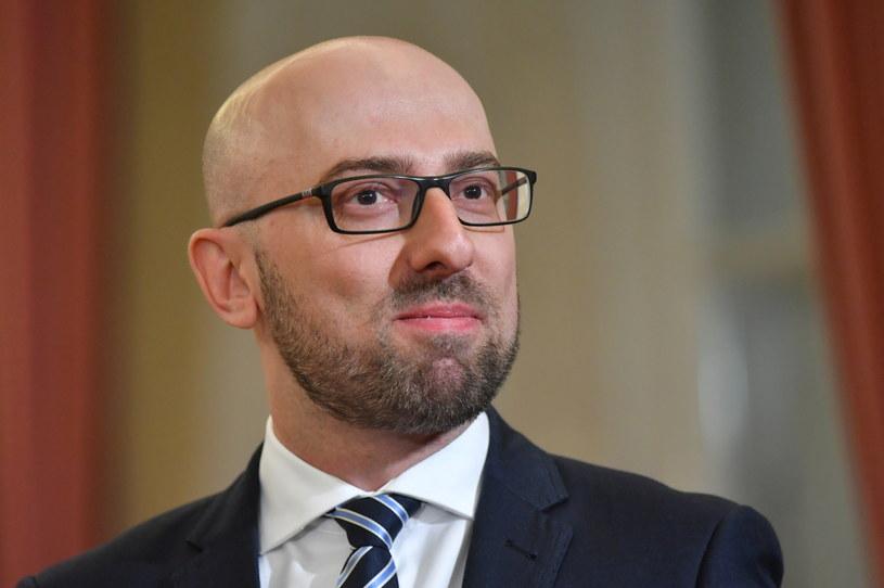 Rzecznik prezydenta Krzysztof Łapiński. /Bartłomiej Zborowski /PAP