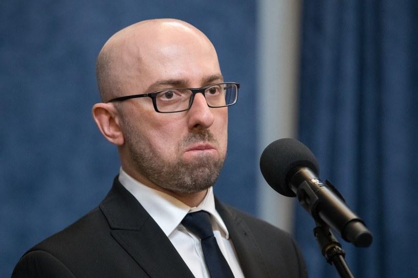 Rzecznik prezydenta Krzysztof Łapiński /Andrzej Iwańczuk /Reporter