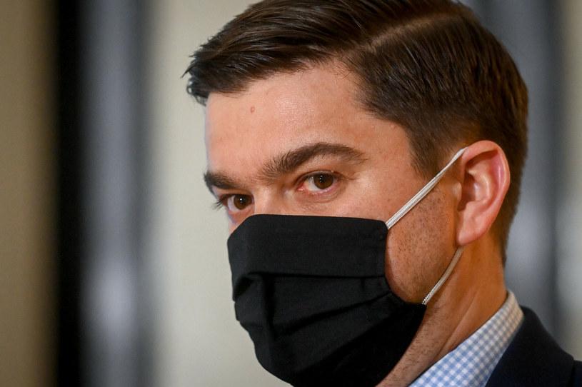 Rzecznik resortu zdrowia Wojciech Andrusiewicz / Jacek Dominski /REPORTER /East News