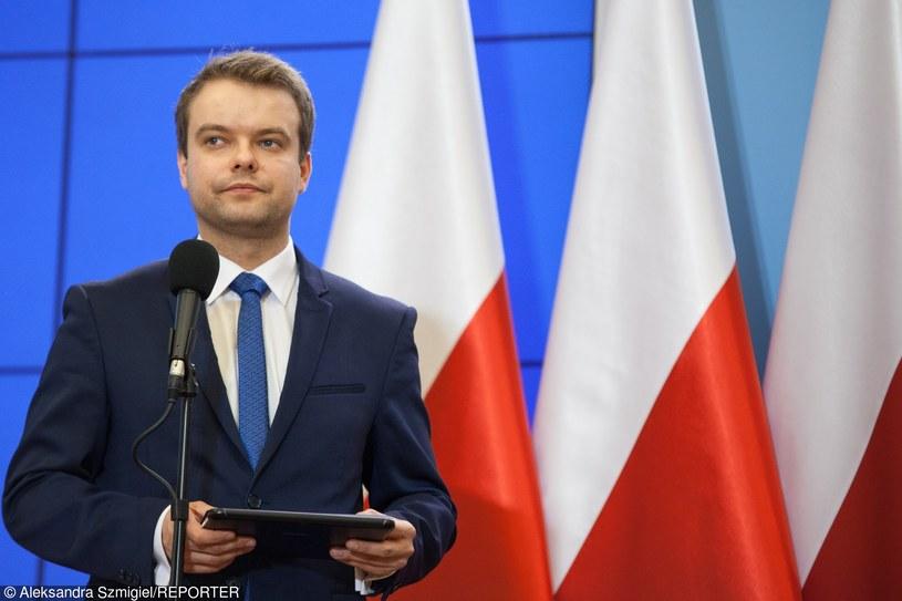 Rzecznik rządku Rafał Bochenek /Aleksandra Szmigiel-Wiśniewska /Reporter