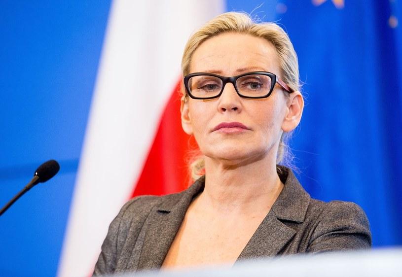 Rzecznik rządu Iwona Sulik /Andrzej Iwańczuk /Reporter
