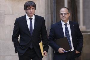 """Rzecznik rządu Katalonii: To na razie """"akt symboliczny"""""""