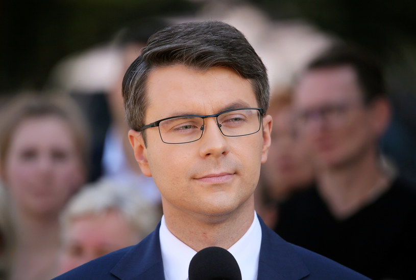 Rzecznik rządu Piotr Müller /Piotr Molecki /East News