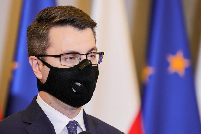 Rzecznik rządu Piotr Müller /Rafal Gaglewski /Reporter