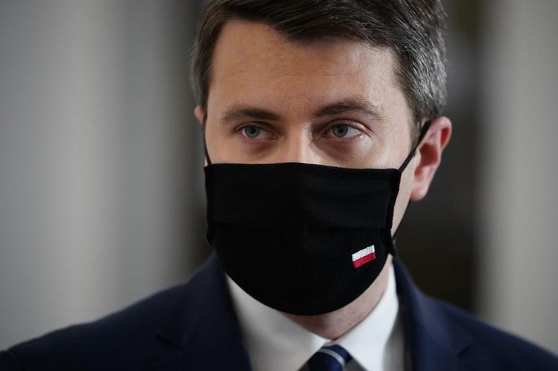 Rzecznik rządu Piotr Müller /Mateusz Wlodarczyk /Agencja FORUM