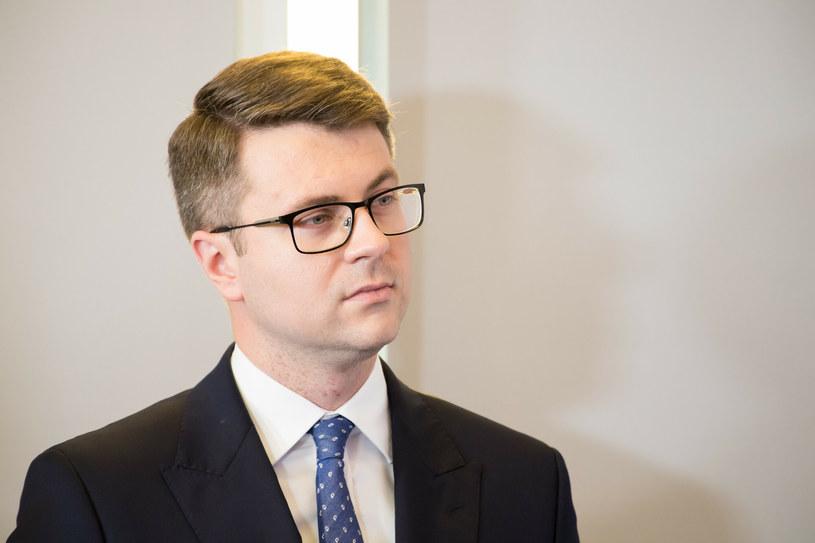 Rzecznik rządu Piotr Müller /Fot. Wojciech Strozyk /Reporter