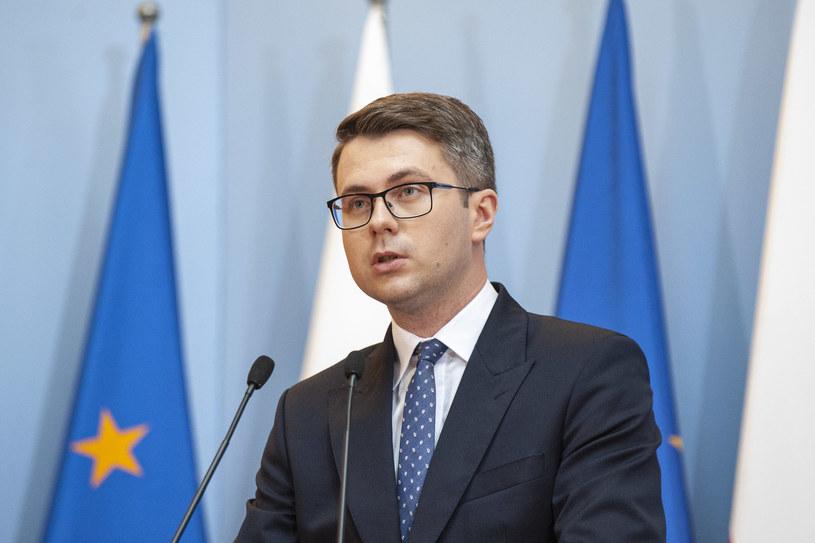 Rzecznik rządu Piotr Müller /Grzegorz Krzyzewski /Agencja FORUM
