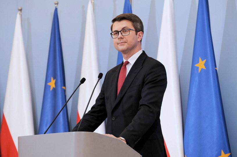 Rzecznik rządu Piotr Müller /Mateusz Marek /PAP