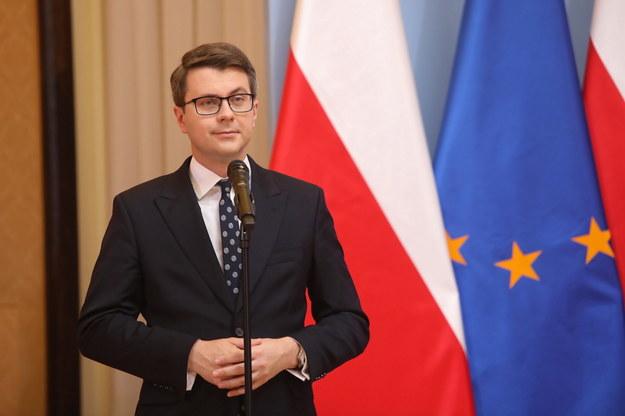 Rzecznik rządu Piotr Müller /Wojciech Olkuśnik /PAP