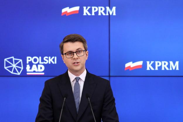 Rzecznik rządu Piotr Müller /Tomasz Gzell /PAP