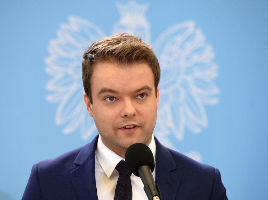 Rzecznik rządu Rafał Bochenek /Jacek Turczyk /PAP
