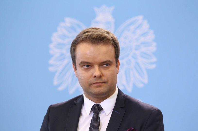 Rzecznik rządu Rafał Bochenek /Stanisław Kowalczuk /East News