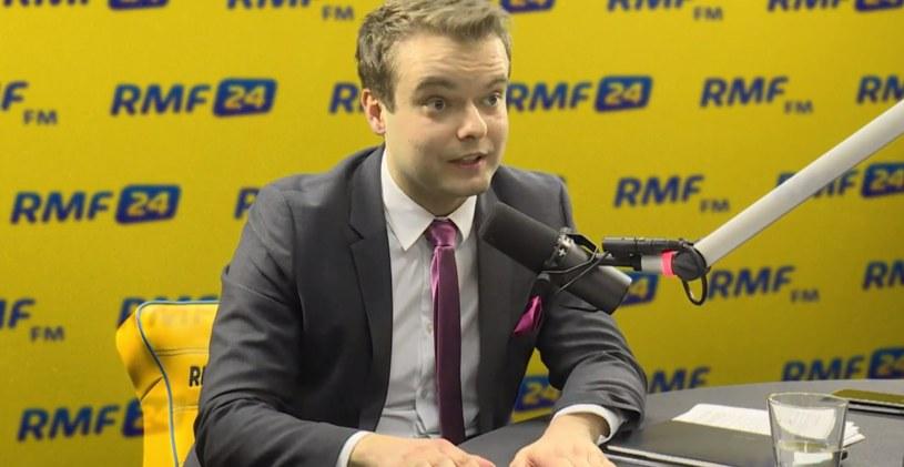 Rzecznik rządu Rafał Bochenek /RMF FM