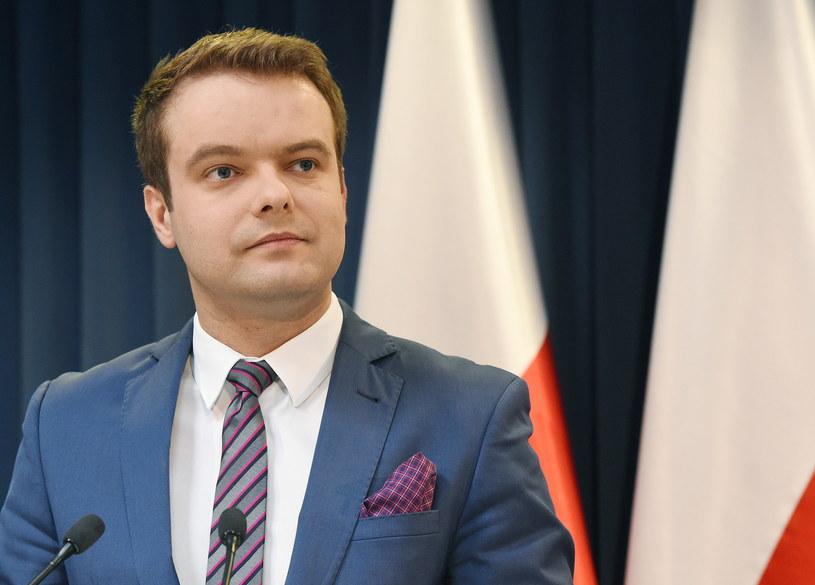 Rzecznik rządu Rafał Bochenek /Radek Pietruszka /PAP
