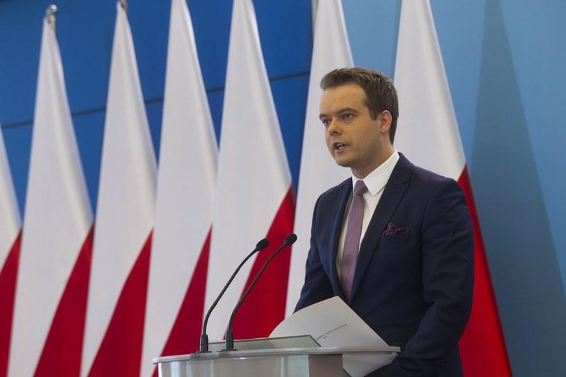 Rzecznik rządu Rafał Bochenek /Wojciech Olkuśnik /East News