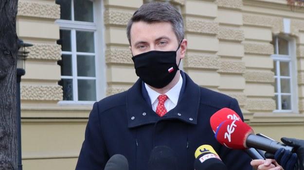 Rzecznik rządu skrytykował Marcina Warchoła /Piotr Szydłowski /RMF FM