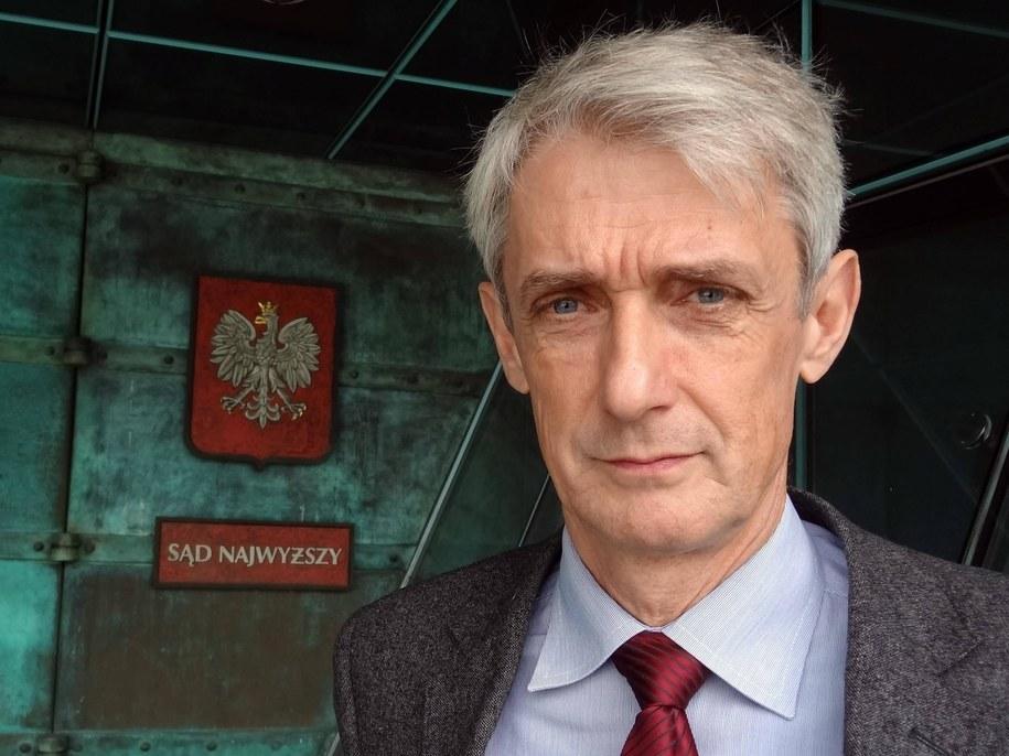Rzecznik Sądu Najwyższego Michał Laskowski /Natalie Skrzypczak /PAP/DPA