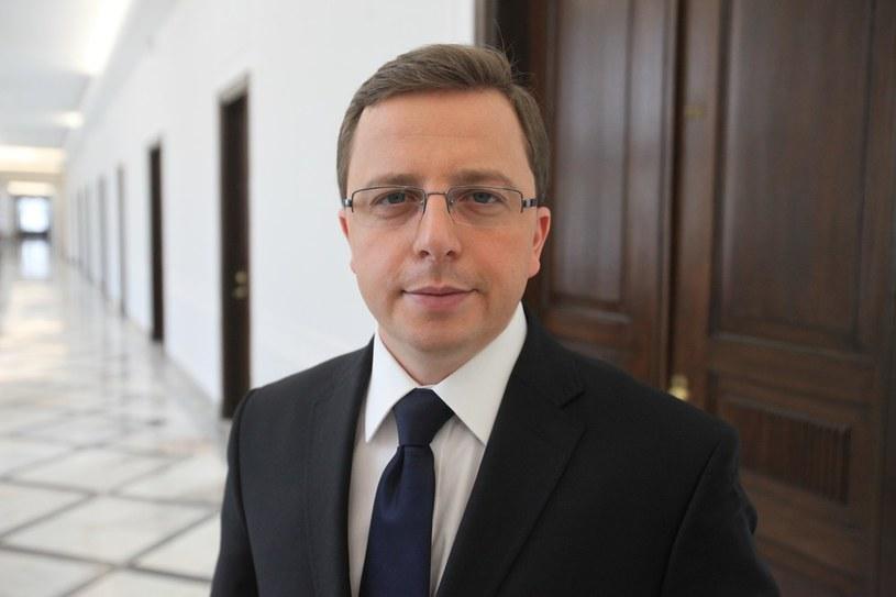 Rzecznik SLD Dariusz Joński. /Tomasz Radzik /Agencja SE/East News
